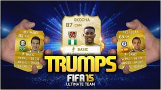 FIFA 15 TRUMPS! w/ LEGEND JAY JAY OKOCHA! | FIFA 15 ULTIMATE TEAM (DISCARD PACK OPENING)