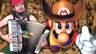 Western Land (Mario Party 2) [accordion cover]