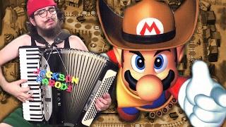 Western Land (Mario Party 2) [accordion cover]