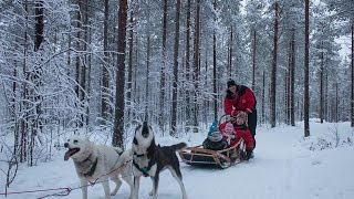 How to travel to Lapland from Sweden