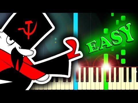 MOSKAU - Easy Piano Tutorial