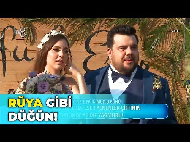 Eser Yenenler - Berfu Yıldız'ın Düğününe Yıldız Yağmuru! - Gel Konuşalım 418. Bölüm