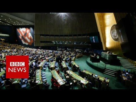 Jerusalem: UN resolution rejects Trump's declaration - BBC News