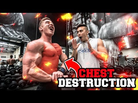 CHEST WORKOUT FOR MASS   Chest Tips & Explanations
