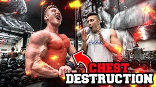 CHEST WORKOUT FOR MASS | Chest Tips & Explanations | Zac Perna