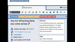 "MyBlogU ""Brainstorm"": Find Your Epic Content Idea"