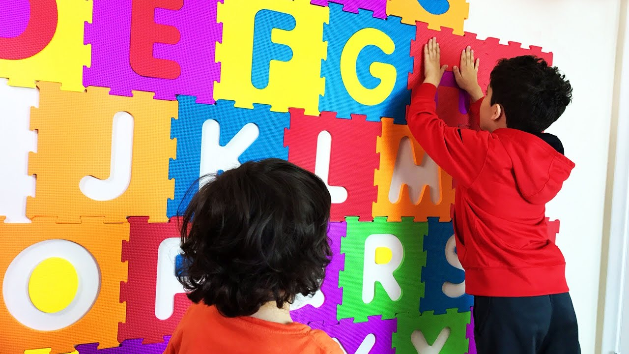 Big Squishy ABC Letters To Decorate The Kidsu0027 Room And Learn The ALPHABETS. Letu0027s  Play Kids