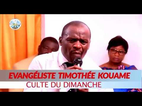 Évangéliste Timothée KOUAME .THÈME : TON OPPROBRE A ASSEZ DURÉ