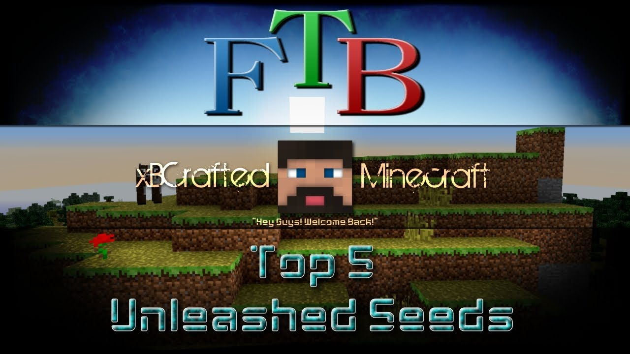 Feed The Beast Unleashed Top 5 Seeds Youtube