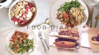 FOOD DIARY DIÄT - SO VIEL HABE ICH ABGENOMMEN |ABNEHMPROGRAMM