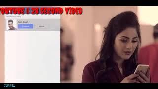Chad Dina message ve seen karke ||sohneya by guri  $ whatsapp status || 28 second video