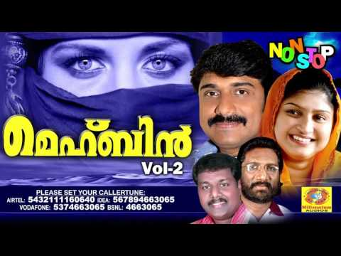Mehbin Vol 2 | Non Stop Malayalam Songs | Latest Non Stop Mappilapattukal | Superhit Mappila Songs