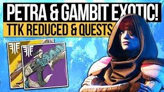 Destiny 2 Forsaken | GAMBIT EXOTIC & TTK REDUCED! Petra Returns, New Weapon Slots & Activities