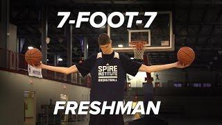 7 foot 7 190lbs freshman