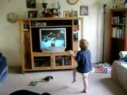 2-year-old boxing