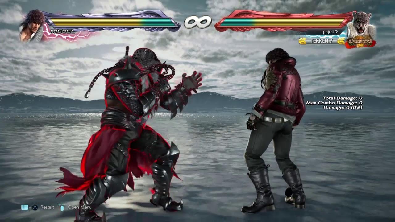 Tekken 7 Armor King Magic 4 Short Combo Video Youtube