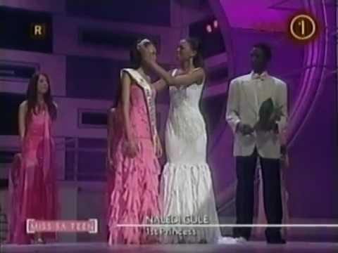 Miss South Africa and Teen 2004 - Crowning Moment