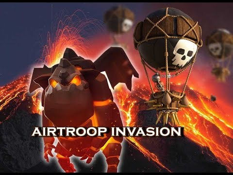 ( After update) Airtroop Invasion # 06 Lanhut Warrior VS Hero Myanmar 2