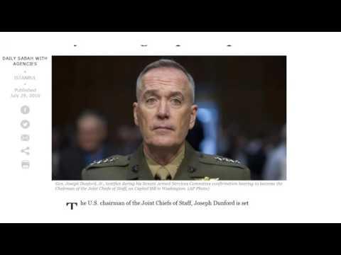 Incirlik Update: Gen. Dunford to Visit
