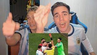 REACCIONES DE UN HINCHA Argentina vs Chile 2-1 Copa América 2019