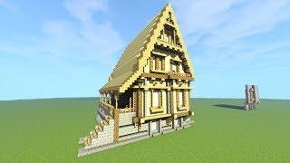 Casa Medieval Minecraft Tutorial 2