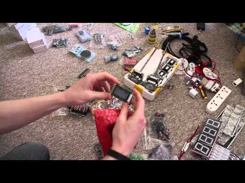 Shenzhen Trip - Electronics Parts Overview