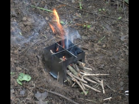 $1 Wood Burning Pocket Stove MYOG