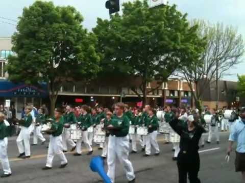 Olympic View Middle School Band at 2012 Ballard Parade