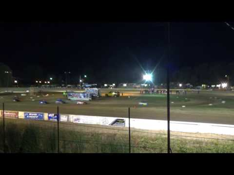 Mini Wedge Feature #1 at Mt. Pleasant Speedway, Michigan on 08-04-2017.