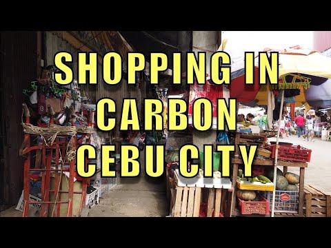 Shopping In Carbon, Cebu City.
