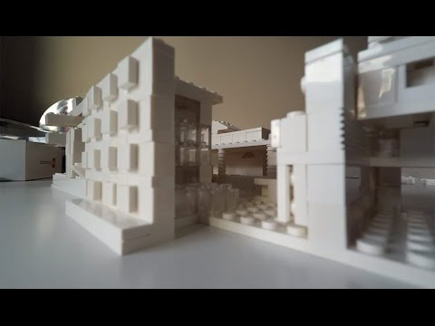Lego Architecture Studio 21050. Лего Архитектура. Speed Build Review