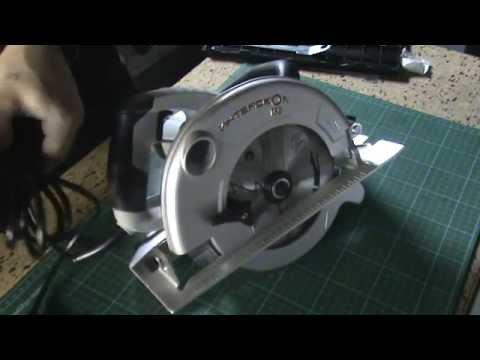 Дисковая циркулярная пила Craft Tec CCS 2200 (распаковка) - YouTube