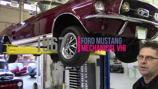 1967 Ford Mustang Mechanical Vehicle Hoist Inspection