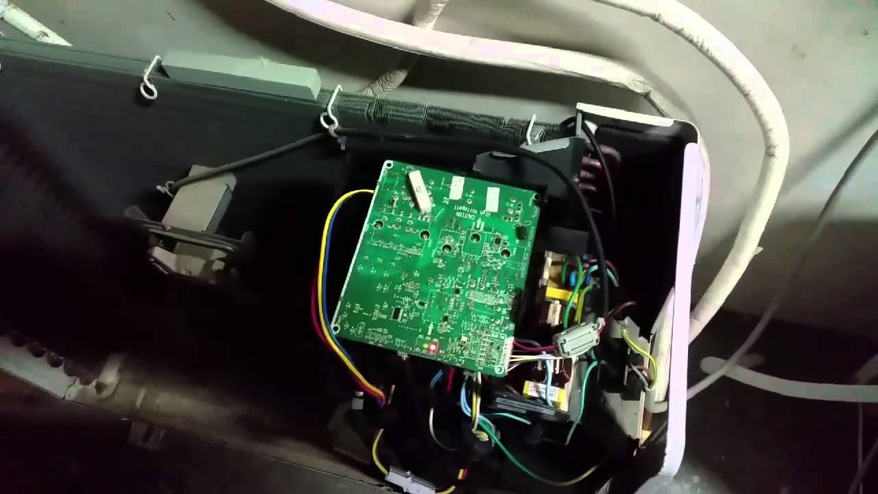 Schema Elettrico Unità Esterna Condizionatore : Riparazione scheda inverter samsung youtube