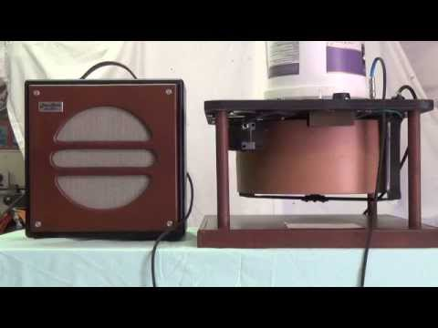 Home Made Compact Leslie Speaker Unit: Construction and Function