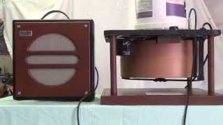 Home Made Compact Leṡlie Speaker Unit: Construction and Function