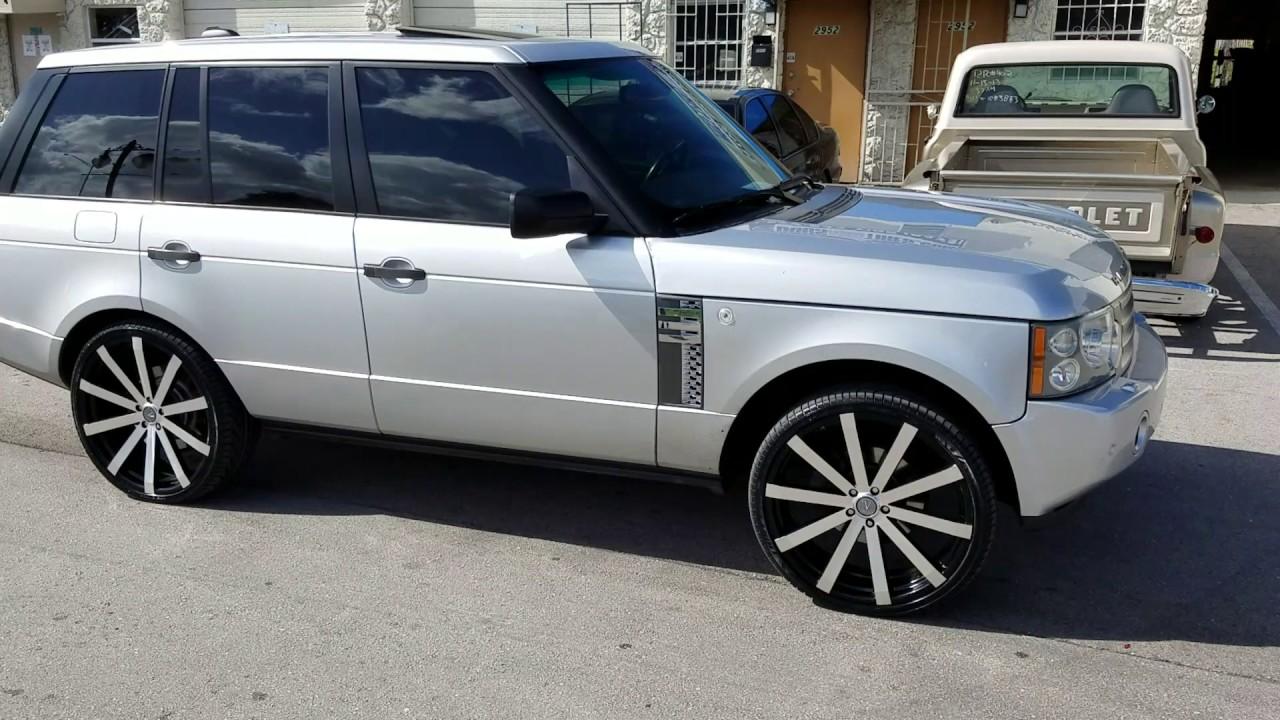 877 544 8473 24 Inch Velocity Vw12 On Range Rover Free