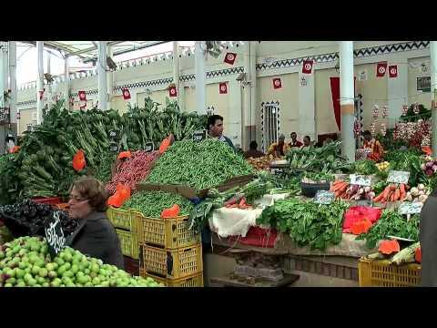 Tunis Market - Walking through the market halls of Tunis