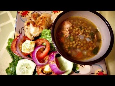 Mexican Style Lentil Soup