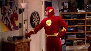 Todos son flash! Fiesta de disfraces - la teoria del big bang español. Capítulo 6 parte 2 T1