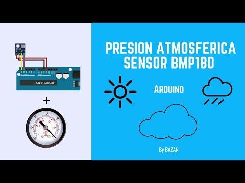 👍Presion Atmosferica  Arduino Con Sensor BMP180 [Código Completo]