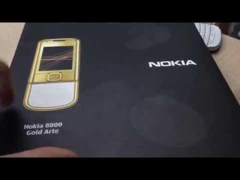 nokia 8800 Gold Arte, review 8800 arte