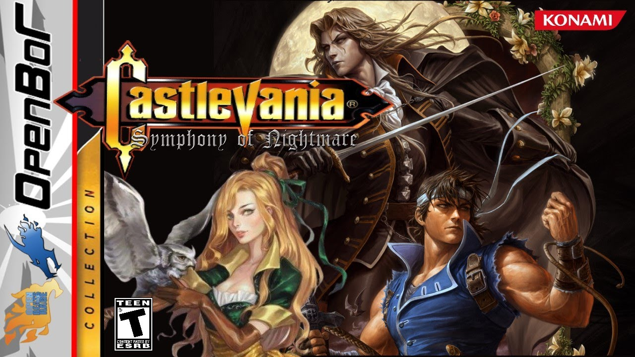 Castlevania: Symphony of The Nightmare (OpenBor)