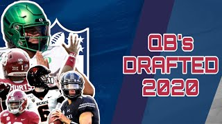 Every Single Quarterback Drafted in the 2020 NFL Draft