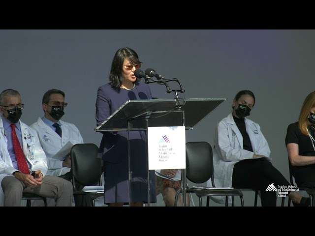 2021 White Coat Ceremony: Keynote Speaker-Dr. Azalea Kim