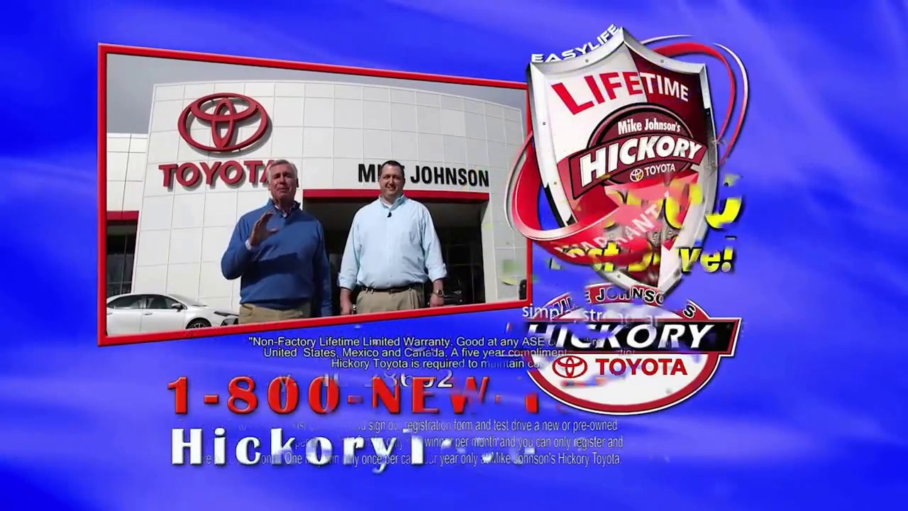 Test Drive Winner For February 2017. Mike Johnsonu0027s Hickory Toyota
