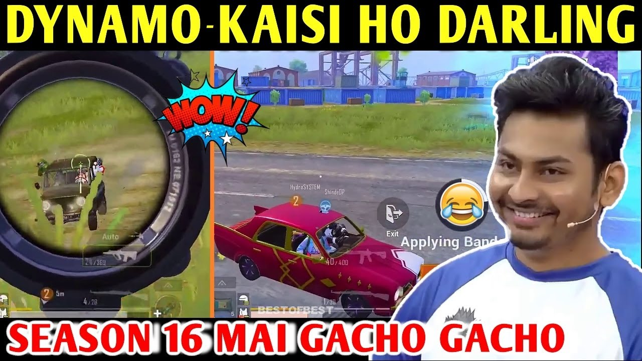DYNAMO - KAISI HO DARLING | PUBG MOBILE | BEST OF BEST