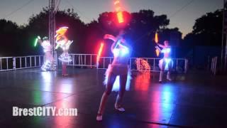 BrestCITY.com: Световое шоу 3 июля 2015 в Бресте