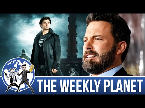Affleck Leaves Batman & Best Universes - The Weekly Planet Podcast