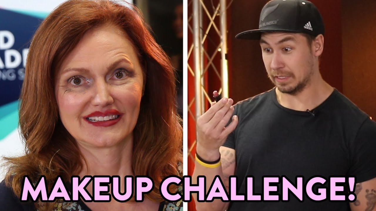 Makeup Challenge - J-Si Does Kellie's Makeup!